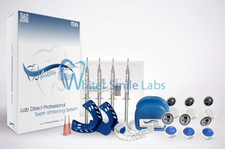Custom Dental Lab Made Teeth Whitening Tray Kit & 38% Gel ! - Click Image to Close