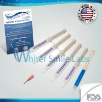 5- 38% teeth whitening gels and remineralization gel